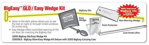 Bigeasy Quot Glo Quot Lockout Tool Kit W Easy Wedge Amp Carrying Case